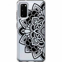 Etui na Samsung Galaxy S20 Plus - Kwiatowa mandala.