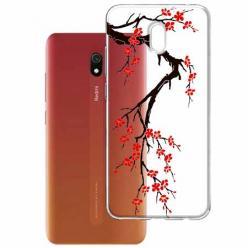 Etui na Xiaomi Redmi 8A - Krzew kwitnącej wiśni.