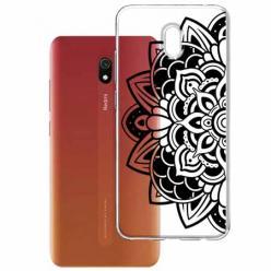 Etui na Xiaomi Redmi 8A - Kwiatowa mandala.