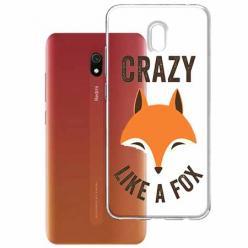 Etui na Xiaomi Redmi 8A - Crazy like a fox.