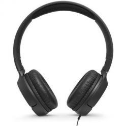 Nauszne słuchawki z mikrofonem JBL - Czarny.