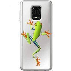Etui na Xiaomi Redmi Note 9 Pro - Zielona żabka.