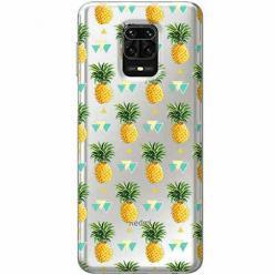 Etui na Xiaomi Redmi Note 9 Pro - Ananasowe szaleństwo.