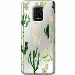 Etui na Xiaomi Redmi Note 9 Pro - Kaktusowy ogród.