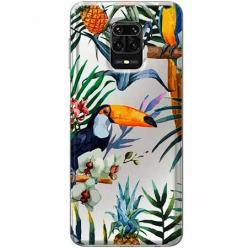 Etui na Xiaomi Redmi Note 9 Pro - Egzotyczne tukany.