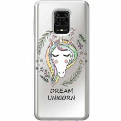 Etui na Xiaomi Redmi Note 9s - Dream unicorn - Jednorożec.