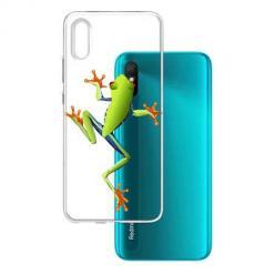 Etui na Xiaomi Redmi 9A - Zielona żabka.