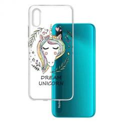 Etui na Xiaomi Redmi 9A - Dream unicorn - Jednorożec.
