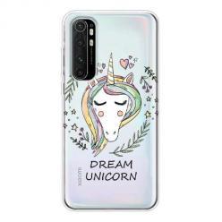 Etui na Xiaomi Mi Note 10 Lite - Dream unicorn - Jednorożec.