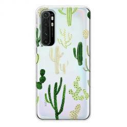 Etui na Xiaomi Mi Note 10 Lite - Kaktusowy ogród.