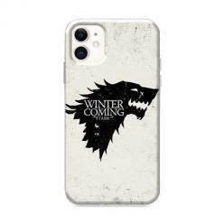 Etui na iPhone 12 Mini - Winter is coming Black