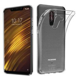 Etui na Xiaomi Pocophone F1 silikonowe crystal case - bezbarwne.