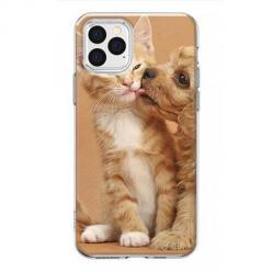Etui na iPhone 12 Pro Max - Jak pies z kotem