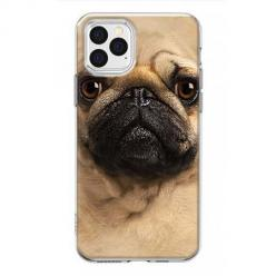 Etui na iPhone 12 Pro Max - Pies Szczeniak face 3d