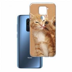 Etui na Xiaomi Redmi Note 9 - Jak pies z kotem
