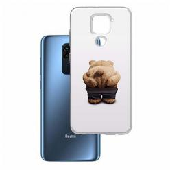 Etui na Xiaomi Redmi Note 9 - Mis z wypiętą pupą