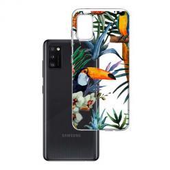 Etui na Samsung Galaxy A41 - Egzotyczne tukany.