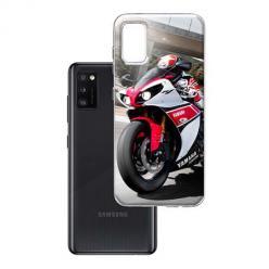 Etui na Samsung Galaxy A41 - Motocykl ścigacz