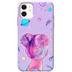 Etui na telefon Slim Case - Galaktyczna dziewczyna