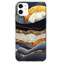 Etui na telefon Slim Case - Marmurowy zachód słońca