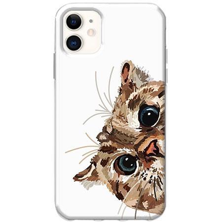 Etui na telefon Slim Case - Wścipski kotek