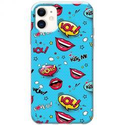 Etui na telefon Slim Case -Kiss Me… LOL! Usta
