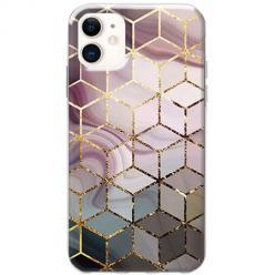 Etui na telefon Slim Case - Geometryczne romby