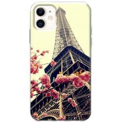 Etui na telefon Slim Case - Wieża Eiffla Boho