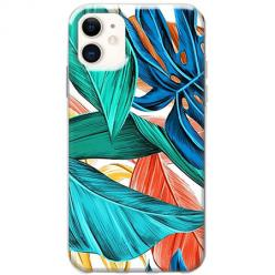 Etui na telefon Slim Case - Kolorowa jungla
