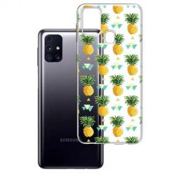 Etui na Samsung Galaxy M31s - Ananasowe szaleństwo.