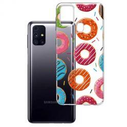 Etui na Samsung Galaxy M31s - Lukrowane pączki.