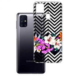 Etui na Samsung Galaxy M31s - Kwiatowy bukiet dla Ciebie.
