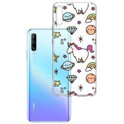 Etui na Huawei P Smart Pro 2019 - Podniebne jednorożce.