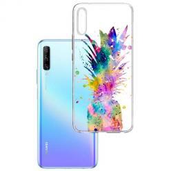 Etui na Huawei P Smart Pro 2019 - Watercolor ananasowa eksplozja.