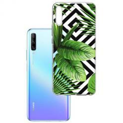 Etui na Huawei P Smart Pro 2019 -  Egzotyczne liście bananowca.