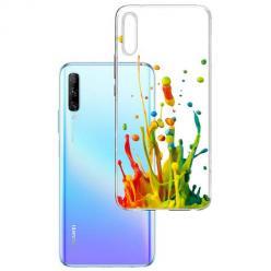 Etui na Huawei P Smart Pro 2019 - Kolorowy splash.