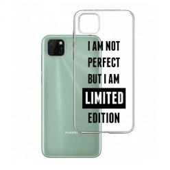 Etui na Huawei Y5P - I Am not perfect…