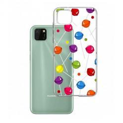 Etui na Huawei Y5P - Kolorowe lizaki.