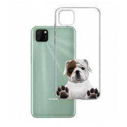 Etui na Huawei Y5P - Słodki szczeniaczek.