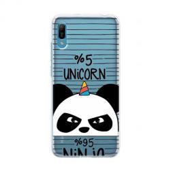 Etui na Huawei Y6 Pro 2019 - Ninja Unicorn - Jednorożec.