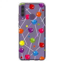 Etui na Huawei Y6P - Kolorowe lizaki.