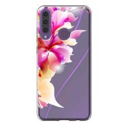 Etui na Huawei Y6P - Bajeczny kwiat.
