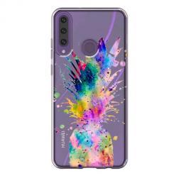 Etui na Huawei Y6P - Watercolor ananasowa eksplozja.