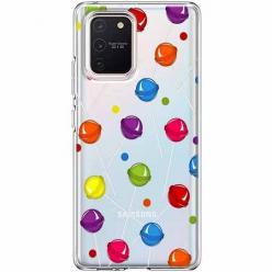 Etui na Samsung Galaxy S10 Lite - Kolorowe lizaki.