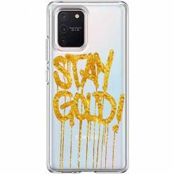 Etui na Samsung Galaxy S10 Lite - Stay Gold.