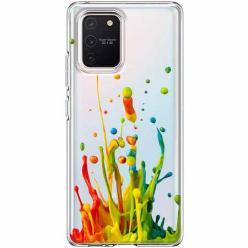 Etui na Samsung Galaxy S10 Lite - Kolorowy splash.