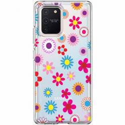 Etui na Samsung Galaxy S10 Lite - Kolorowe stokrotki.