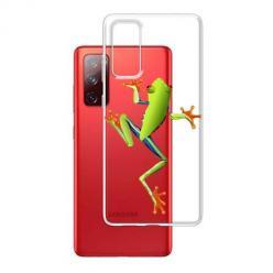 Etui na Samsung Galaxy S20 FE - Zielona żabka.