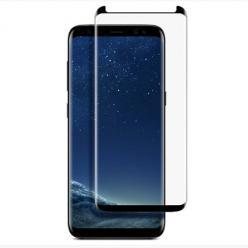 Samsung Galaxy S8 Plus hartowane szkło na cały ekran 3D - Czarny.