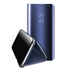 Etui na  Samsung Galaxy S20 FE Clear View z klapką - Granatowy.